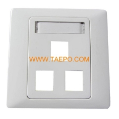 3-Port faseplate
