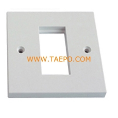 1-Port faseplate