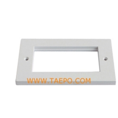 4-Port faseplate
